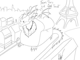 Dragonloaf in Paris