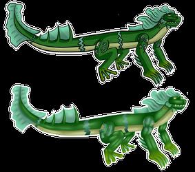 Eel-frog Character 2