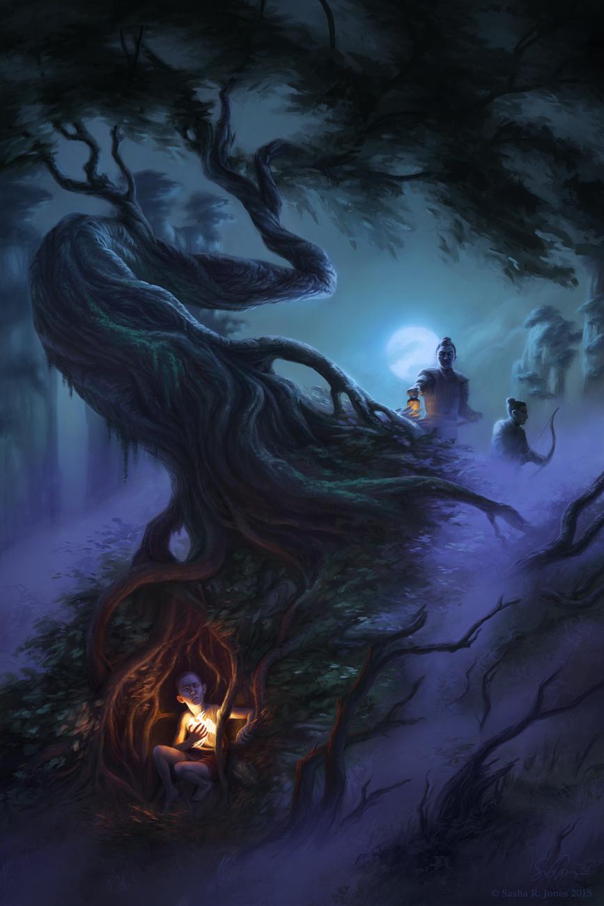 Pursuit Through the Mists