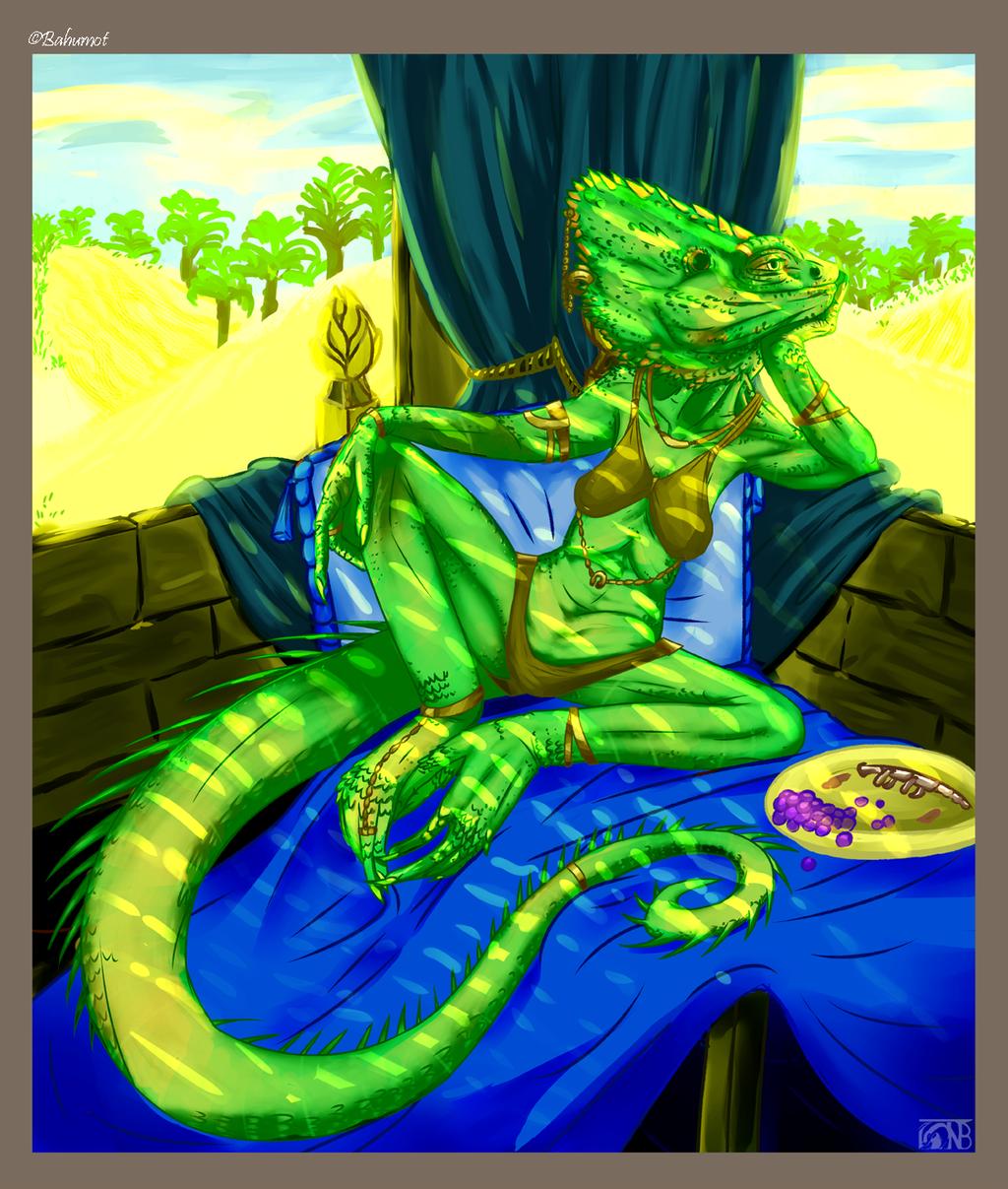 [Commish] The Lizard Queen