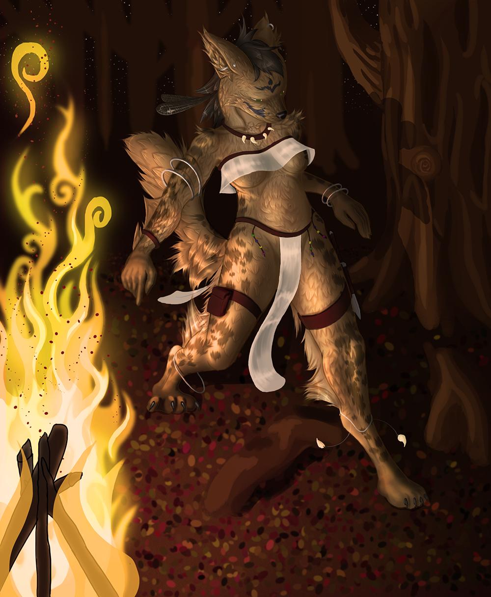 Most recent image: Firelight Dance