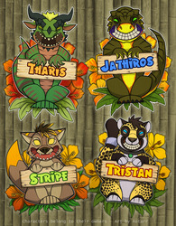 Tiki Badges #4