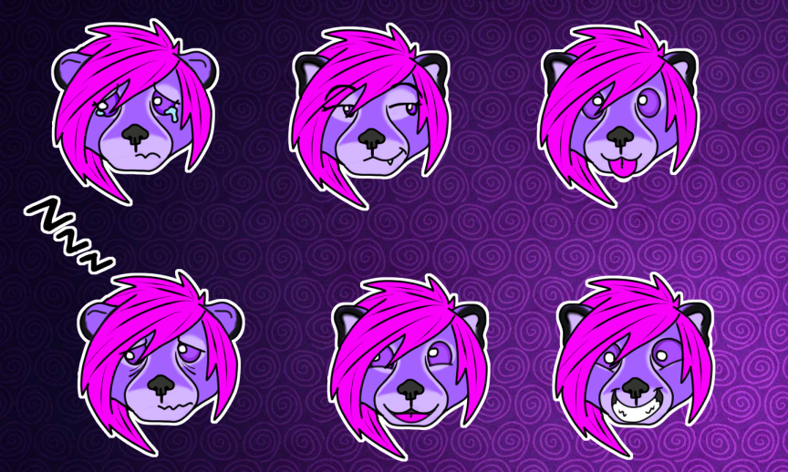Lavender Sticker Set