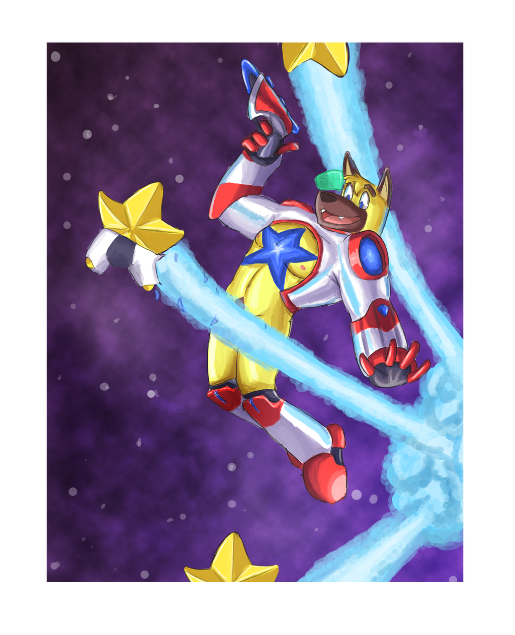 Most recent image: Jak Star - Shooting Star