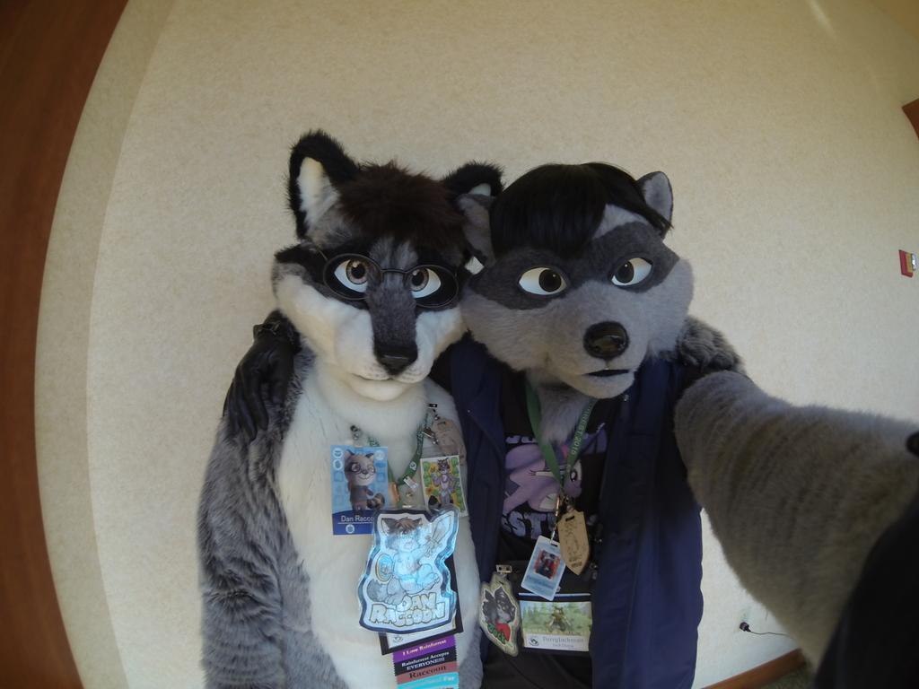 Me and Dan Raccoon - RF 2015