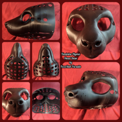 Feminine Hyena Head Base