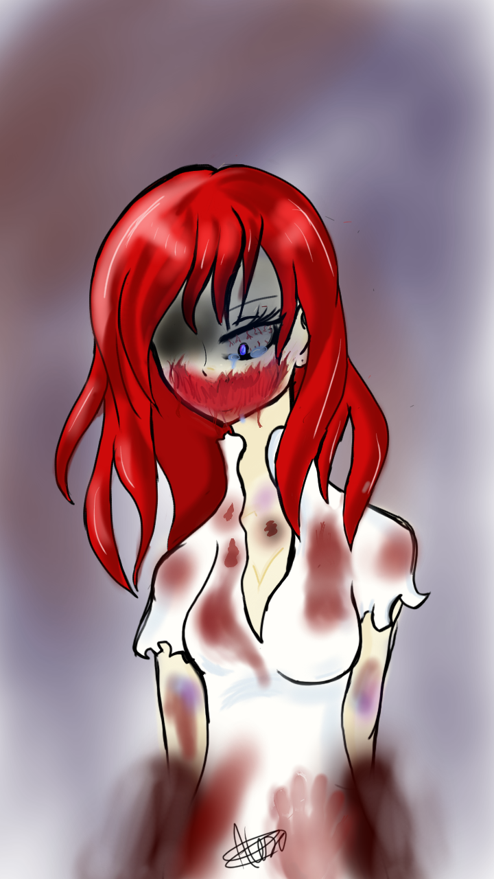 What my ex creepypasta oc used to look like