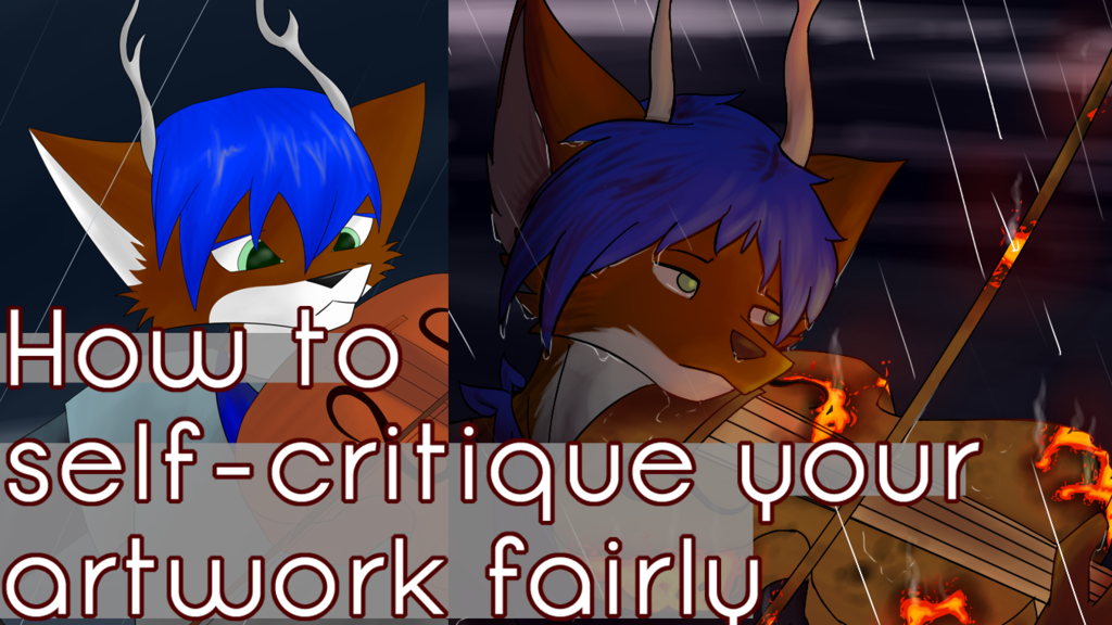 How to self-critique your artwork fairly