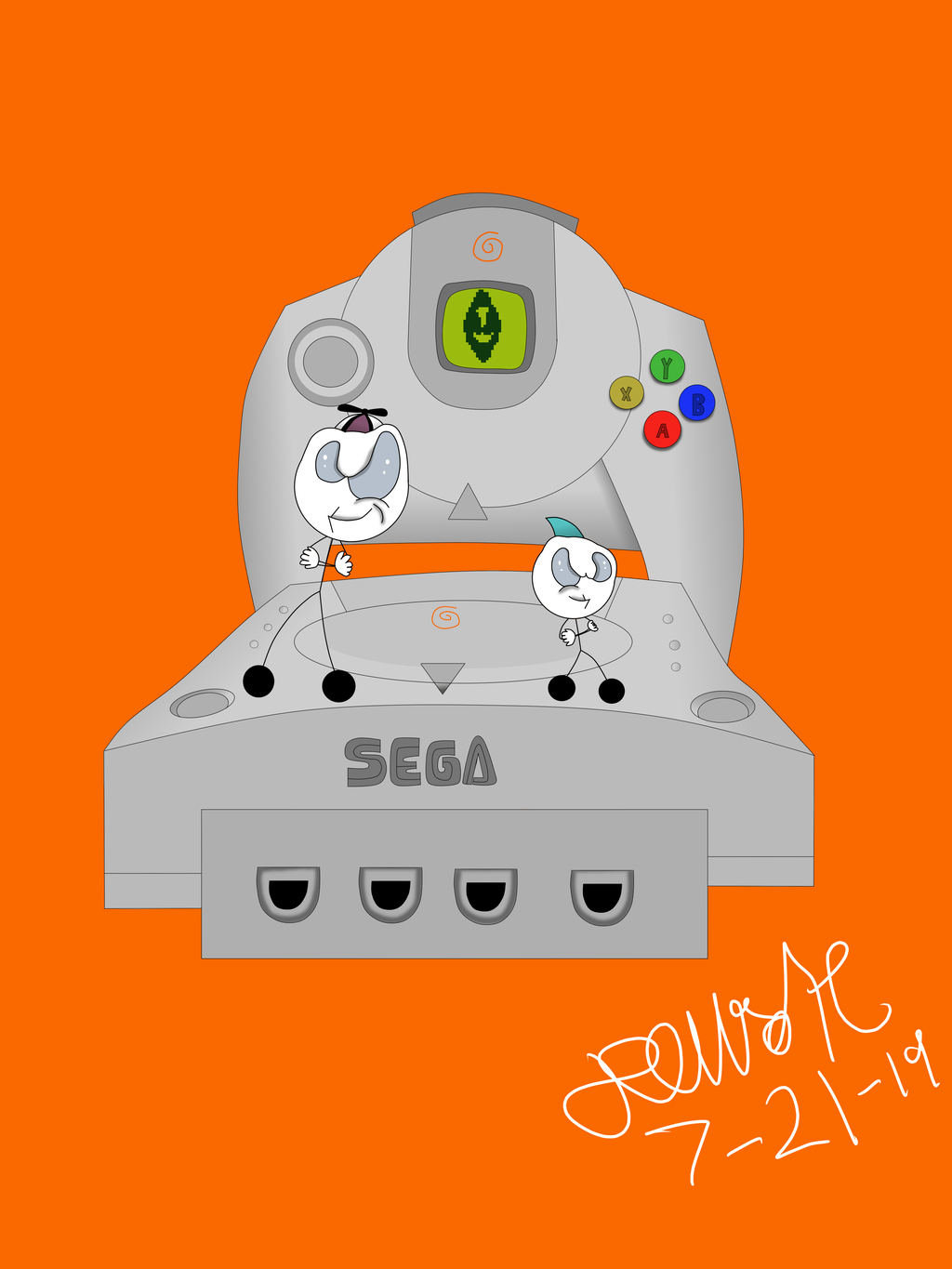 Most recent image: Dreamcast's 20th birthday