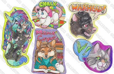 March Instagram Badge Commissions