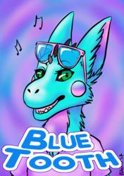Blue Tooth Badge - Califur 2017
