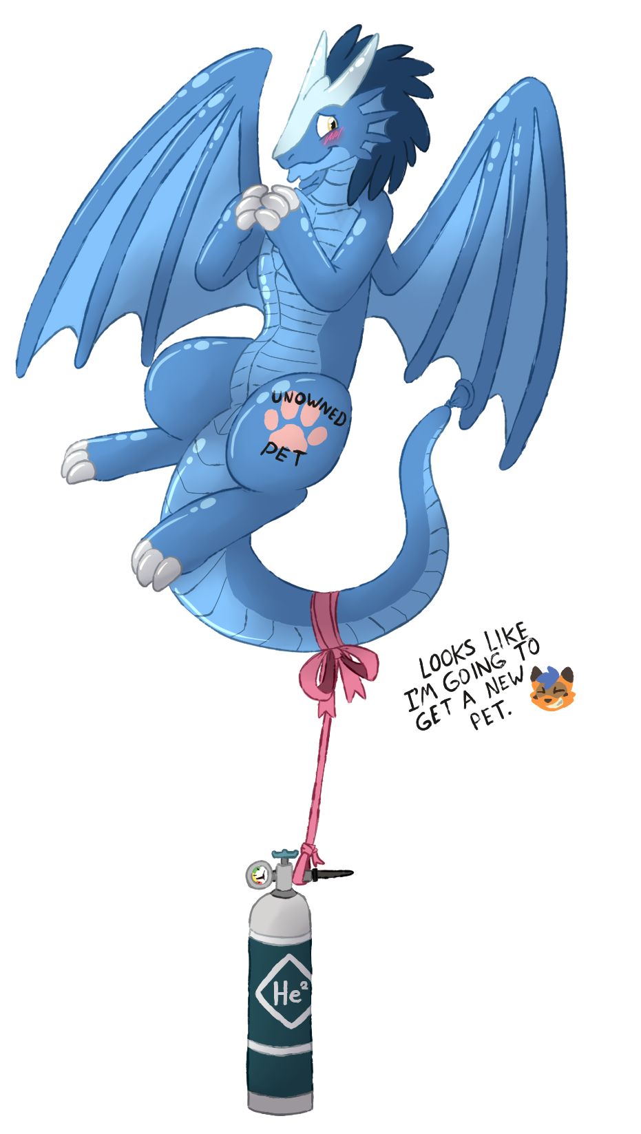 Free Pet Dragon Balloon (Jearic)