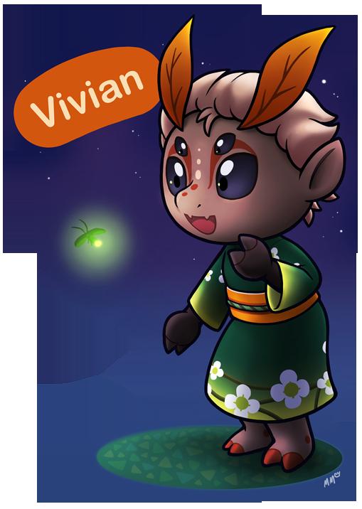 Vivian Animal Crossing Badge