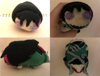 RWBY Lie Ren Stacking Plush Commission
