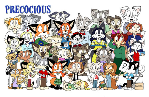 Most recent image: The Precocious cast image!