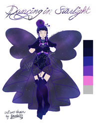 Dancing in Starlight outfit adopt- open!