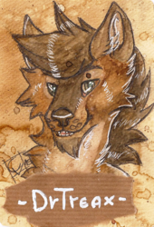Badge for DrTreax