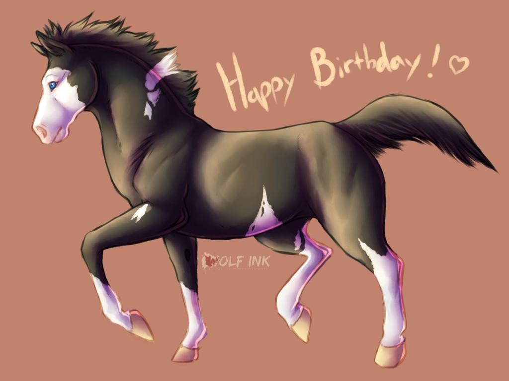 Happy Birthday horse nerd