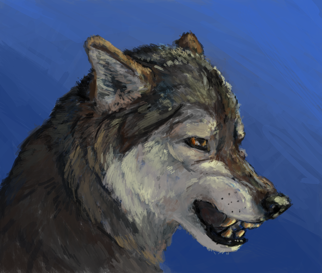 Most recent image: Waff head painting