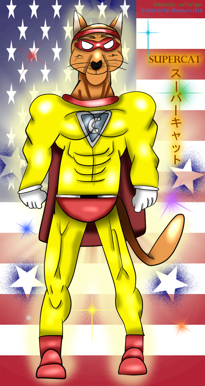 Most recent image: SuperCat, the Cat of Steel