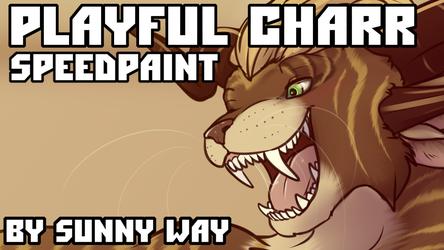 Playful charr - Speedpaint