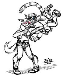 Surprise Back Hug Attack