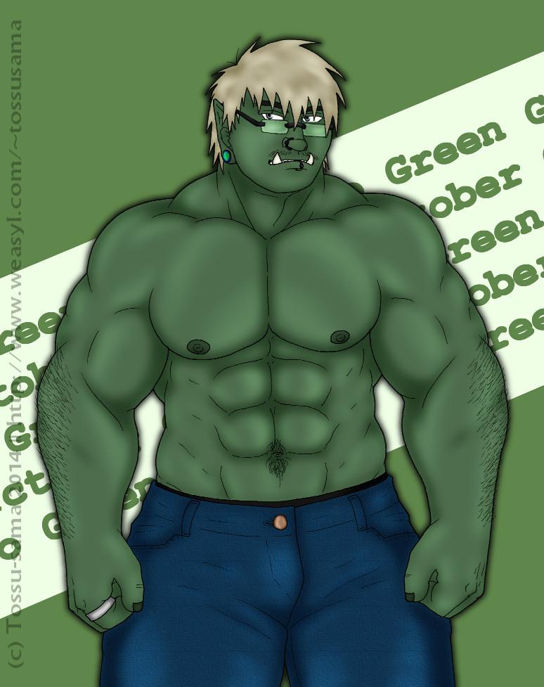 GO GREEN - Orctober 2014