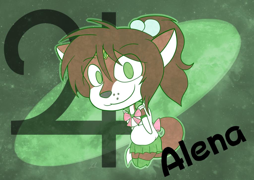Alena as Sailor Jupiter