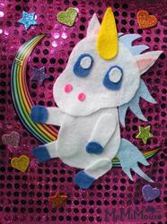 Chibi Unicorn Collage
