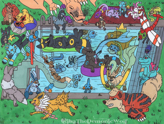 Pokemon Pool Party