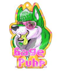 BLFC Gage Puhp Badge