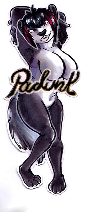 Padunk Badge