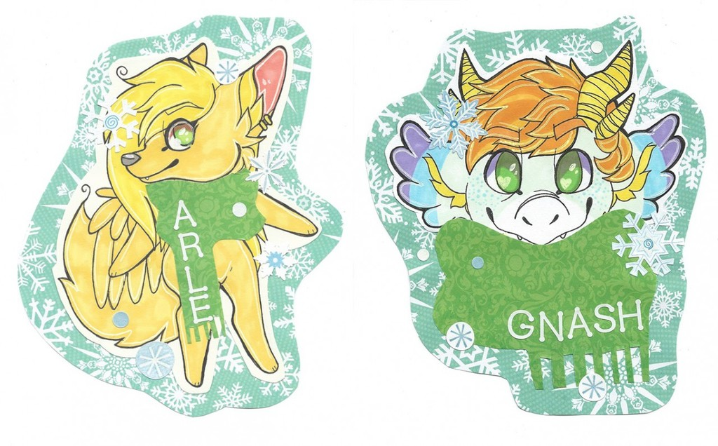 Most recent image: winter badges