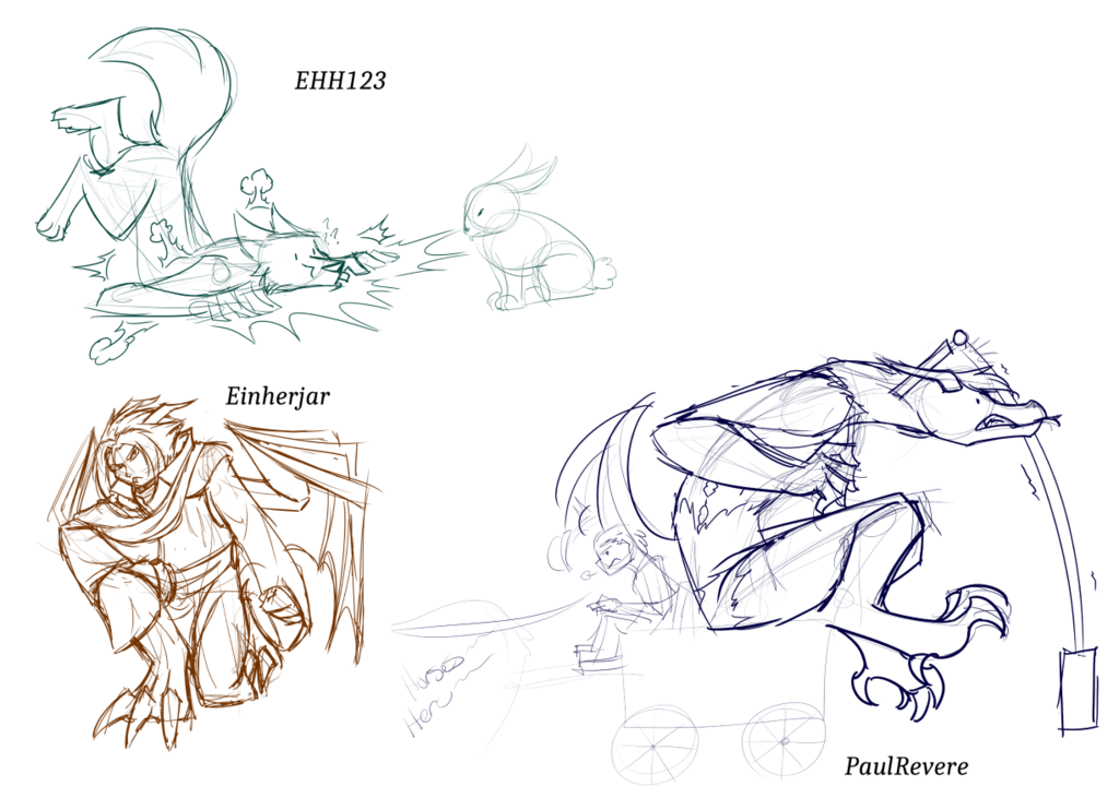 March Sketch Stream: Transformations 2