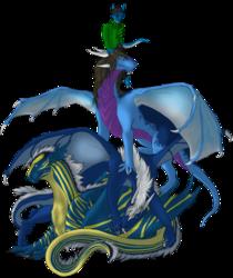 Blue Color Dragon Club [Gift]