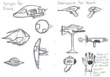 Weapon + Ship concepts