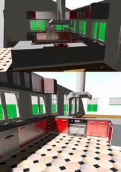 Kitchen for Blackspots's Home