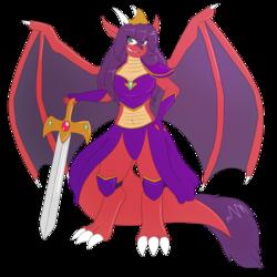 Magical Warrior Princess by Wingu