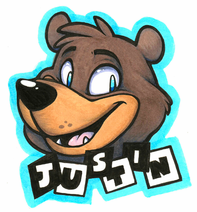Most recent image: Justin Badge (Commission)