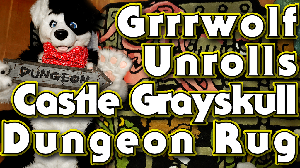 Most recent image: VIDEO! Grrrwolf Unrolls Super7 Castle Grayskull Dungeon Rug!