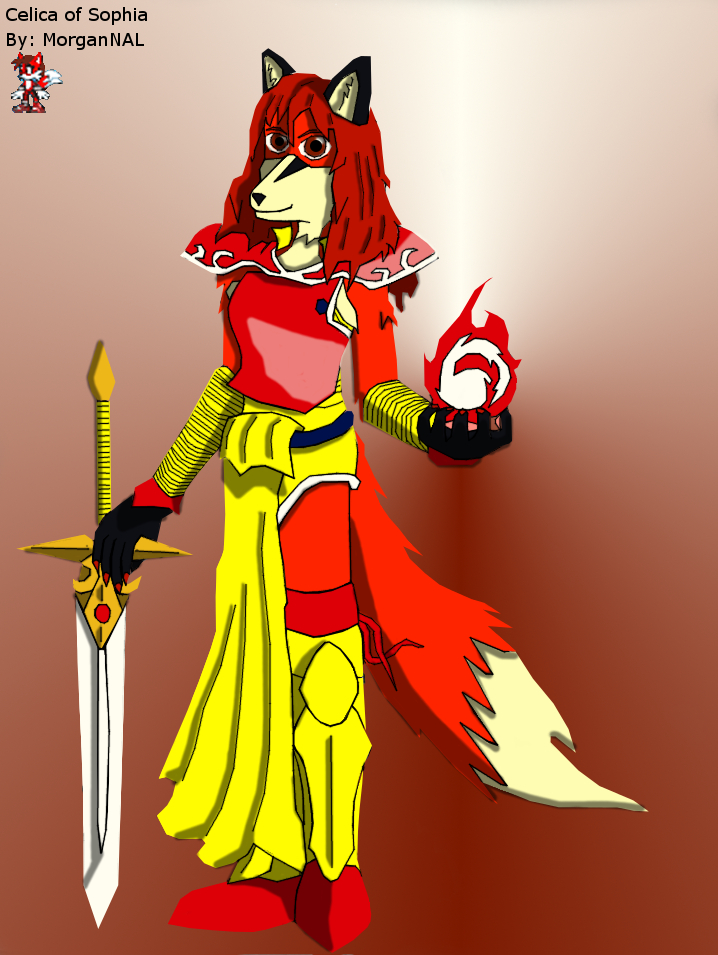 Anthro Celica