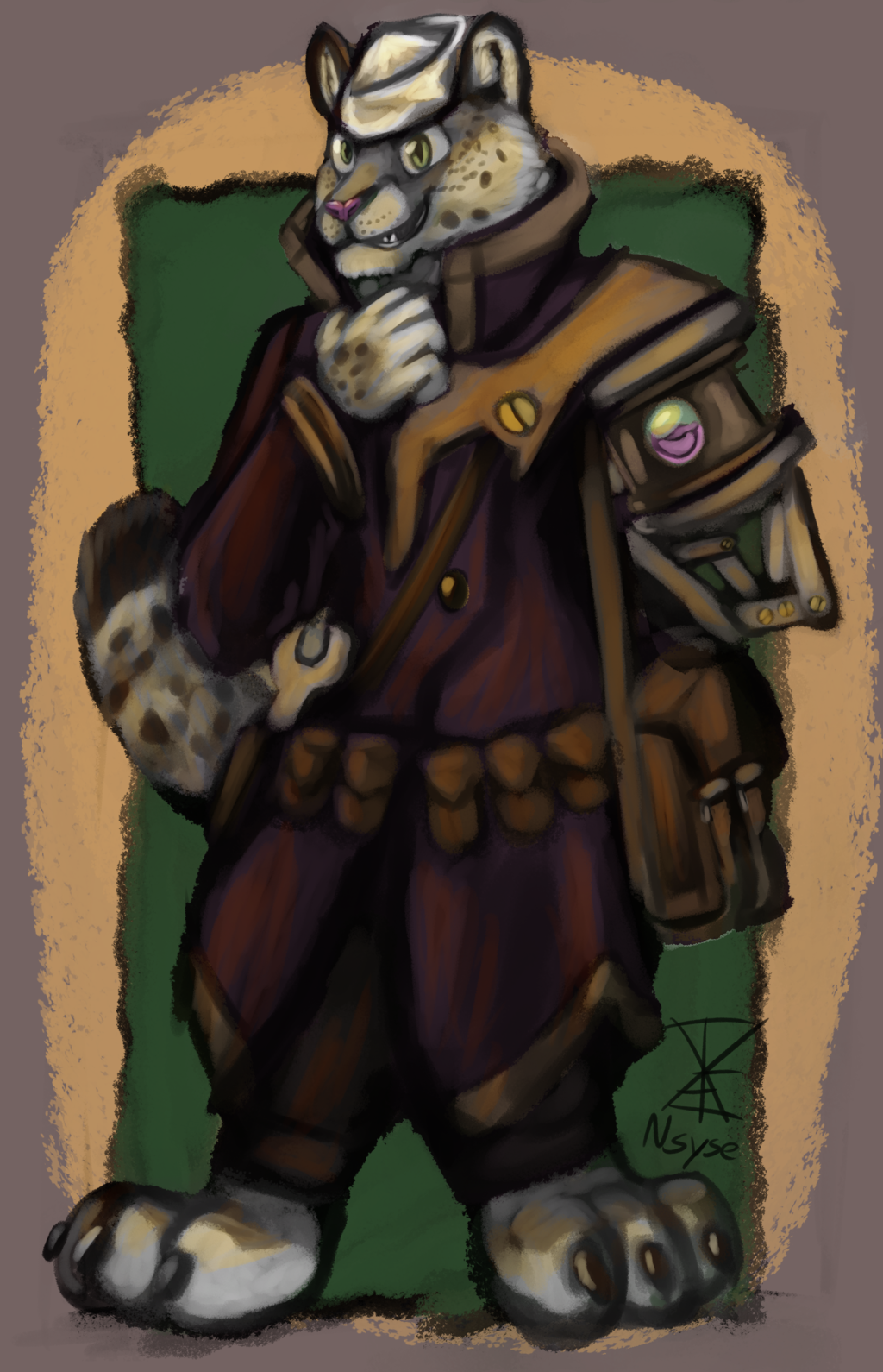 Steampunk Sailor Snep