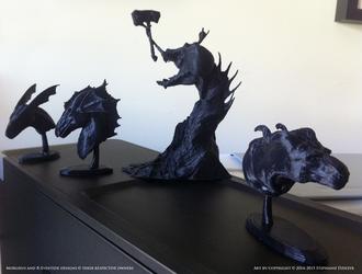 3D Prints - Characters and Originals 2