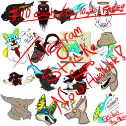Telegram Sticker Commissions Now Available!