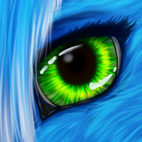 Most recent image: Eye practice