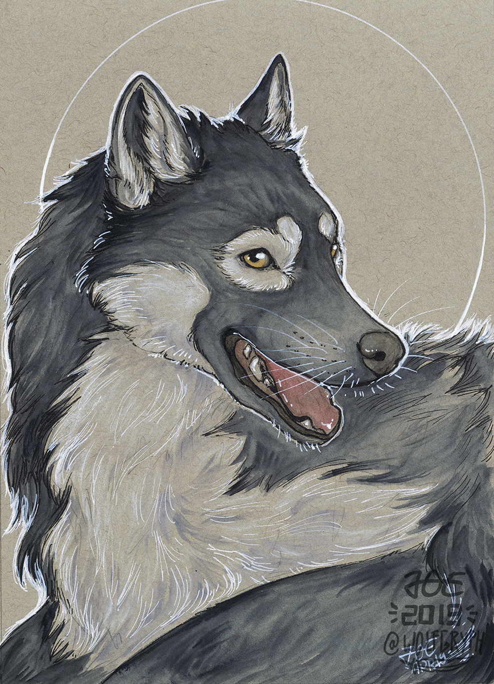 Patreon Easter - Gingerwolf