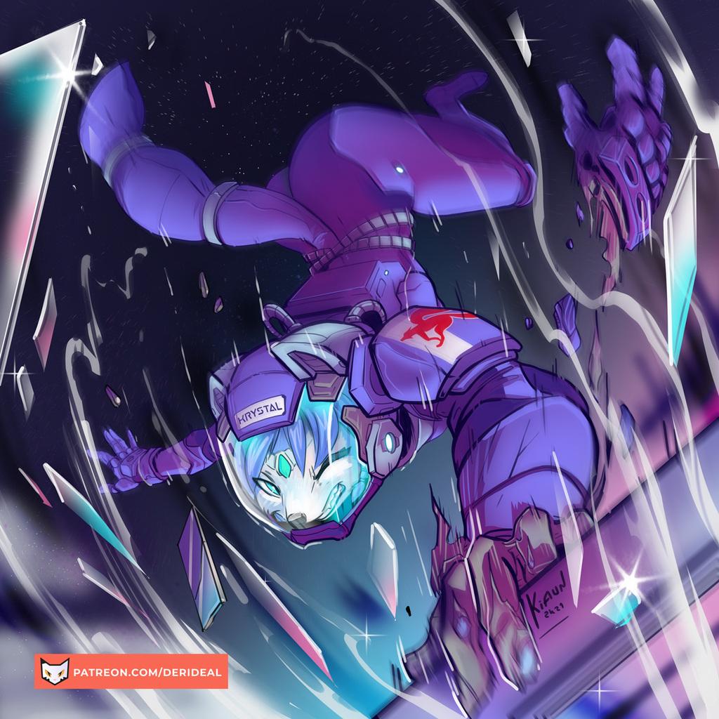Krystal airlock space peril