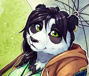 Parasol Panda