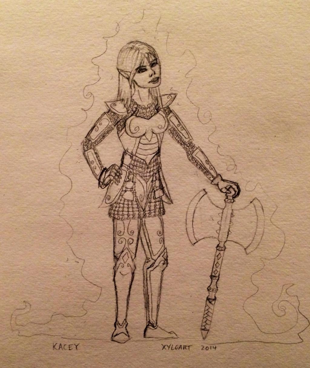 Kacey sketch