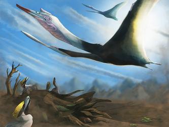Quetzalcoatlus, the giant Pterosaur